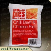 Chilli Beef and Cheese pie