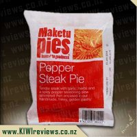 Maketu Pepper Steak pie