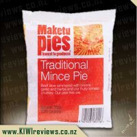 Maketu Traditional Mince pie