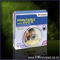 Verbatim DVD-R 1.4GB 8cm White InkJet Printable