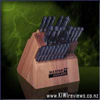 The Showtime Sixstar+ Knife and Block Set