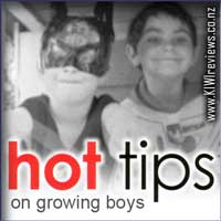 Hot Tips on Growing Boys