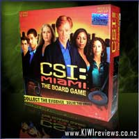 CSI: Miami boardgame