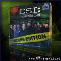 CSI: The Board Game - Encore Edition