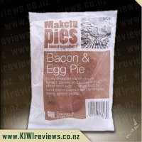 Maketu Bacon & Egg - Single Serve