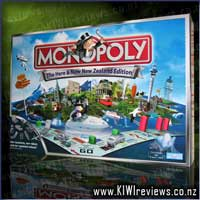 Monopoly 'Here & Now' New Zealand Edition