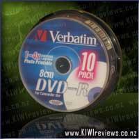 DVD-R1.4GB10Pk8cmWhiteInkjet4x
