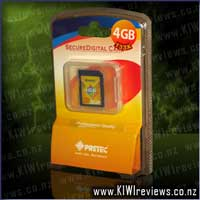 Pretec SD Card 4GB High Speed 133x