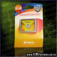 PretecCF+Card6GBHighSpeedTypeII80x