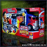 Transformers&nbsp;Optimus&nbsp;Prime&nbsp;Battle&nbsp;Rig&nbsp;Blaster