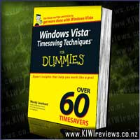 Windows Vista Timesaving Techniques for Dummies