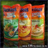 Uncle Ben's Express Rice : Savoury Chicken Flavour