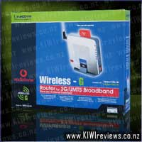 WRT54G3G - Wireless-G Router for 3G