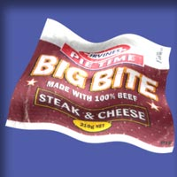Steak & Cheese : Pie Time - Big Bite