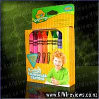 16-pack Washable Triangular Crayons