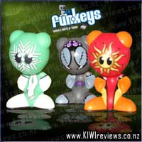 U.B. Funkeys - Funkiki Islands characters