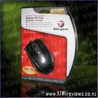 Retractable Laser Stow-N-Go Laptop Mouse - AMU41US