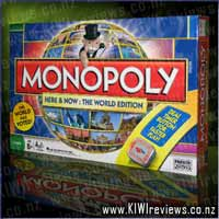 Monopoly&nbsp;'Here&nbsp;&&nbsp;Now'&nbsp;World&nbsp;Edition