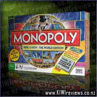 Monopoly 'Here & Now' World Edition - Electronic