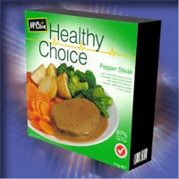 Healthy Choice : Pepper Steak