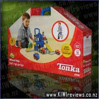 TONKA&nbsp;Chuck&nbsp;And&nbsp;Friends&nbsp;Fold&nbsp;'n&nbsp;Go&nbsp;Garage