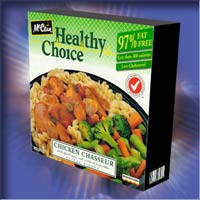 Healthy Choice : Chicken Chasseur