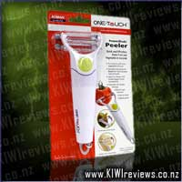 One Touch Powerblade Peeler