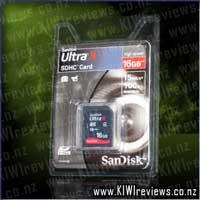 SanDisk Ultra-II SDHC Card