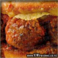Oven&nbsp;Baked&nbsp;Sandwich:&nbsp;Meatball