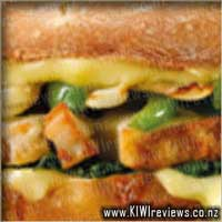 Oven Baked Sandwich: Chicken Delight