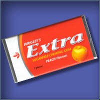 EXTRA Sugarfree Gum - Peach