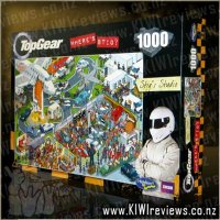 Top Gear: Where's Stig : 1000pc Puzzle