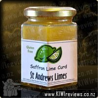 Saffron&nbsp;Lime&nbsp;Curd