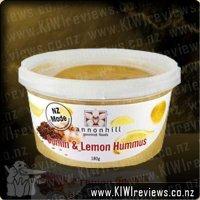 Cumin and Lemon Hummus