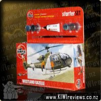 Westland Gazelle starter set
