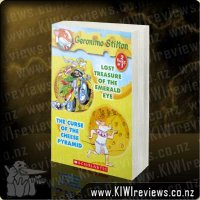 Geronimo&nbsp;Stilton&nbsp;-&nbsp;Lost&nbsp;Treasure&nbsp;of&nbsp;the&nbsp;Emerald&nbsp;Eye&nbsp;&&nbsp;The&nbsp;Curse&nbsp;of&nbsp;the&nbsp;Cheese&nbsp;Pyramid