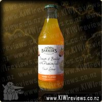 Orange and Barley with Passionfruit Fruit Syrup 710ml