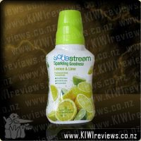 SodaStream - Sparkling Goodness - Lemon and Lime