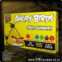 Angry Birds Fruit Gummies Theatre Box