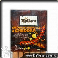 Hellers Smoked Chipotle and Chedder Gourmet Sausages
