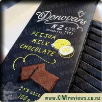 Donovans Feijoa Milk Chocolate