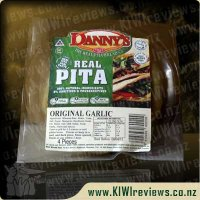 Dannys Pita Bread - Long-Life Garlic