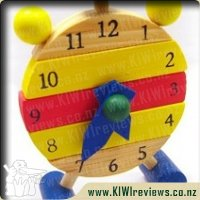 Wooden&nbsp;3D&nbsp;clock&nbsp;puzzle