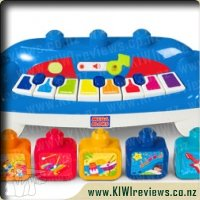 Mega Bloks Smart Builders Piano