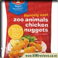 Tegel Zoo Animal Chicken Nuggets 1kg
