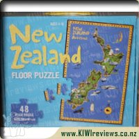 New Zealand Floor Puzzle
