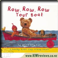 Row, Row, Row Your Boat sing-along book