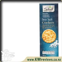 Woolworths Select Sea Salt Crackers