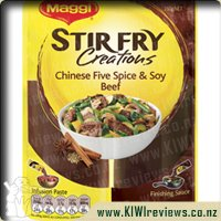 Maggi Stir Fry Creations Recipe Base Chinese 5 Spice & Soy Beef