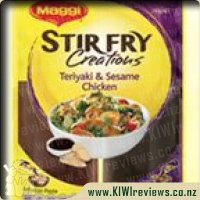 MAGGI Stirfry Creations Teriyaki & Seasame Chicken